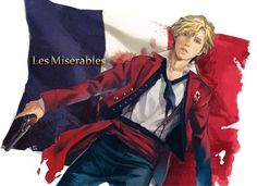 Beautiful but terrible painting. <--- hey, he's a charming young man capable of being terrible Victor Hugo, Enjolras Grantaire, Sad Paintings, Jean Valjean, Jesus Christ Superstar, Character Aesthetic, Musical Theatre, Theater, Theatre Geek