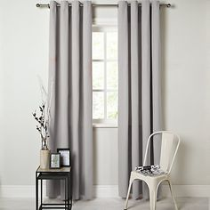 Buy Putty John Lewis Cotton Rib Lined Eyelet Curtains, x Drop from our Ready Made Curtains & Voiles range at John Lewis. Pink Curtains, Velvet Curtains, Open Wardrobe, Powder Pink, John Lewis, Blinds, Family Room, Master Bedroom, Cotton