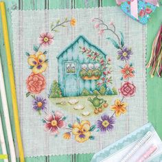 Nature - Cross Stitch Motifs - Inspired by Nature Cross Stitching, Cross Stitch Embroidery, Cross Stitch Patterns, Tapestry Design, Window Stickers, Handmade Gifts, Illustration, Blog, Crafts