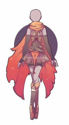 D Inspiration Mega Dump - Album - anime Anime Outfits, Cute Outfits, Dress Drawing, Drawing Clothes, Scarf Drawing, Manga Drawing, Drawing Sketches, Fashion Design Drawings, Fashion Sketches