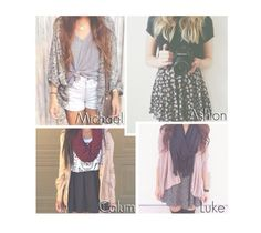 """""""5sos - Pick an Outfit for You."""" by reydel ❤ liked on Polyvore featuring 5sos, 5secondsofsummer and 5sospreference"""