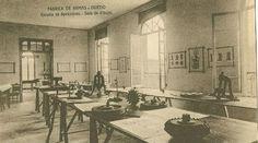 Escuela de aprendices. Sala de dibujo. Antigua Fábrica de Armas de Oviedo (España)