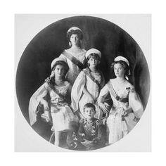 Giclee Print: Children of Tsar Nicholas II of Russia, C1910-C1914 : 16x16in