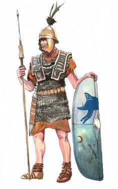 Republican Roman Legionnary by pegasusandco.deviantart.com on @DeviantArt
