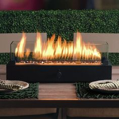 Bond Manufacturing Transform your ordinary patio table into luxury within minutes. Lara Steel Propane Tabletop Fireplace is an easy and economical way to create a warm and inviting atmosphere outdoors. Decor, Outdoor Decor, Next At Home, Backyard Decor, Patio Design, Tabletop Fireplaces, Backyard Diy Projects, Patio Table, Fireplace