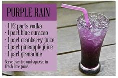 Purple Rain - in memory of Prince