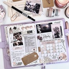 Here is my monthly spread in my Planning Bullet Journal. I featured my new printable kit in this spread called 'moon Bullet Journal Planner, Bullet Journal Writing, Bullet Journal School, Bullet Journal Inspo, Bullet Journal Spread, Bullet Journal Ideas Pages, Fonte Alphabet, Bullet Journal For Beginners, Bullet Journal Aesthetic