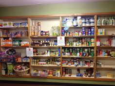 UPDATE: The pantry is starting to fill up again! Thanks to everyone who helped us spread the word and to those who responded by making a donation! :-)