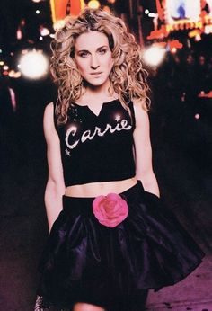 "Carrie Bradshaw is always that mentor I look at in my mind and think ""How would Carrie do this?"""