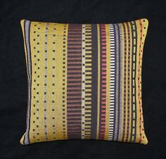 Paul+Smith+Point+17x17++Pillow++includes+feather+by+MaiaModern,+$95.00