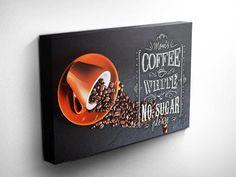Kaffee-Liebhaber Kaffee Zeichen von DareToDreamPrints auf Etsy