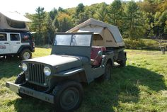 Main Line Overland - Overland Rally, Vermont - 1947 Jeep Willys CJ2a