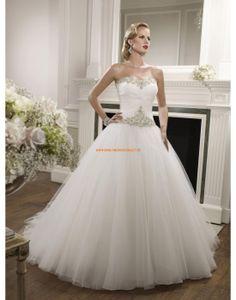 RONALD JOYCE Romantische Traumhafte Brautkleider von Prinzessinstil mit Schleppe