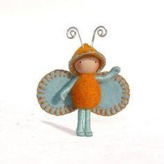 Icy Orange Juicy Bug by dreamalittle7 on Etsy
