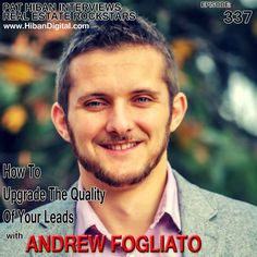 Andrew Fogliato is a former real estate agent who found his true passion doing digital marketing for real estate agents. From selling real estate in Toronto to training agents on how to leverage the internet and technology, to now doing for agents what he used to train about... #realestate #podcast #pathiban #hibandigital #hibangroup #HIBAN #andrewfogliato #realestatesales #realestateagent #realestateagents #selling #sales #sell #salespeople #salesperson