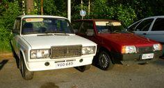 Lada 2107 3-40 1995  Lada Samara 1300 S 3d axtec 1995