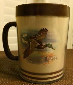 Pheasant Mallard Duck Coffee Cup Mugs by BuddyJacksDawgHouse