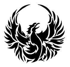 Phoenix Bird Stencil What size? Read How Stencil Sizes are Determined What material? Tribal Phoenix Tattoo, Phoenix Tattoo Design, Tribal Tattoos, Tatoos, Phoenix Tattoos, Phoenix Bird Images, Phoenix Art, Phoenix Arizona, Bird Stencil