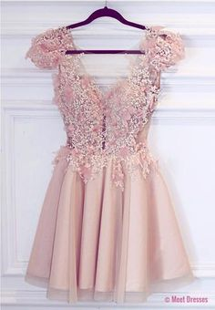 satin prom dress,pink homecoming dress,short prom dress,chic party dress,elegant dresses,semi formal dress PD20185999