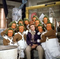 Willy Wonka and the Oompa Loompas  - 'Willy Wonka & the Chocolate Factory' (1971)