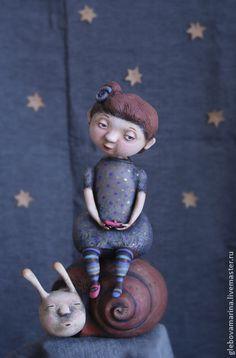 Коллекционные куклы ручной работы. Ярмарка Мастеров - ручная работа тише едешь-дальше будешь. Handmade.