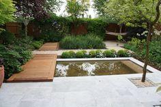 terrastegels natuursteen small garden