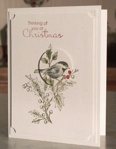 Handmade Christmas Card Stampin Up BEAUTIFUL by WhimsyArtCards is creative inspiration for us. Get more photo about home decor related with by looking at photos gallery at the bottom of this page. We are want to say thanks if you like to share this post to another people via your …