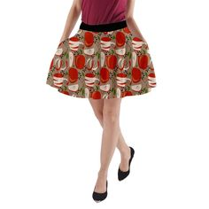 Are you as American as apple pie? Then you will love our Apple Appealing A-Line Pocket Skirt. Great for those warm southern nights and evening festivals.