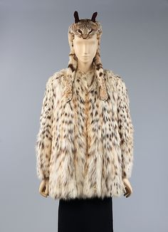 Ensemble (cat coat and hat) Elsa Schiaparelli, 1938-1939 The Metropolitan Museum of Art