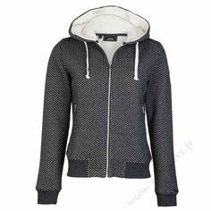 HV Polo Sweat à capuche Valene grey melange 109,99€