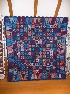 Krönchenquilter - Passion and Patience - Hildegard Müller by Redwork in Germany, via Flickr