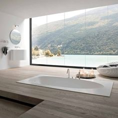 Luxury Bathroom Interior Design Ideas by Rexa - Modern Italian Bathroom Designs – Rexa Modern Bathrooms Interior, Modern Bathroom Design, Dream Bathrooms, Bathroom Interior Design, Beautiful Bathrooms, Bathroom Designs, Luxury Bathrooms, Bathroom Ideas, Luxury Bathtub