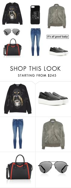 """Untitled #1183"" by salma12222 ❤ liked on Polyvore featuring Givenchy, Kenzo, 3x1, IRO .JEANS and Victoria Beckham"