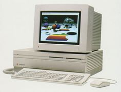 Apple Macintosh II (1987)  One of the first (and only) beautiful computers.