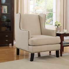 Found it at Wayfair - Upholstery Wingback Chair