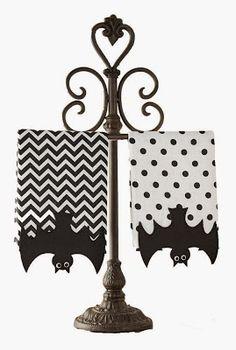 Goth Shopaholic: Mud Pie Bat Fingertip Towels for Goth Bathroom Decor