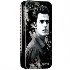Vampire Diaries Stefan Graphic iPhone Case