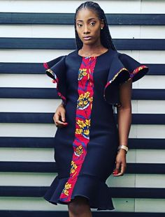 Afrikanische Ankara Mode Afrikanische Ankara Mode Source by fashion dress Short African Dresses, Latest African Fashion Dresses, African Print Dresses, African Print Fashion, Africa Fashion, Ankara Fashion, African Ankara Styles, Modern African Fashion, African Prints