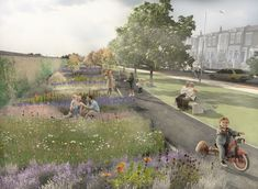 Plot Lines, Linear Park by Lucy Harrison and Matter Architecture