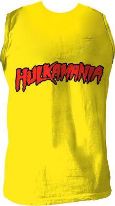 Hulkamania Sleeveless Shirt $17.95 #tvstoreonlinewishlist