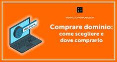 Comprare un Dominio web perfetto per il tuo sito internet, dal nome del dominio, all'estensione .it o .com fino ai pacchetti hosting TOP qualità-prezzo.