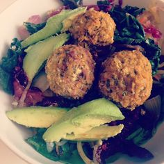 Homemade falafel is one of my most favorite homemade Meatless Monday dishes. It is incredibly versatile – much like hummus, chickpeas are a fantastic base for a plethora of flavors. You can g…