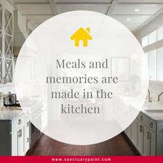 Meal and memories are made in the kitchen.