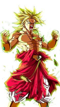 Broly, el Supersaiyajin legendario, 30 ilustraciones - Taringa!