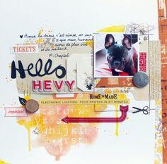 Les Scrapineries de CeriZ - Hello HEVY