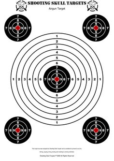 Pistol Shooting Tips, Shooting Gear, Shooting Range, Paper Shooting Targets, Paper Targets, Pistol Targets, Rifle Targets, Air Rifle Hunting, Bullet Casing Crafts