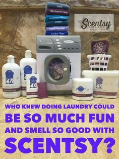 Scentsy and laundry Products who knew :) you will love it www.mmelissa.scentsy.us