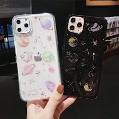 Glitter Space planet Cases For iphone – Galaxy Art Girly Phone Cases, Galaxy Phone Cases, Pretty Iphone Cases, Diy Phone Case, Iphone Phone Cases, Phone Covers, Cellphone Case, Decoden Phone Case, Kawaii Phone Case