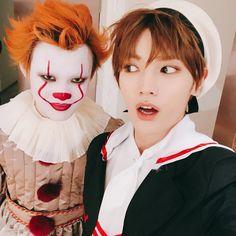 Chenle n Taeyong NCT Halloween party 2018 Nct 127, Mark Lee, Winwin, Jaehyun, Nct Dream, Halloween 2018, Halloween Costumes, Halloween Party, Rapper