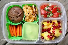 "Lunch, Snack and ""Sninner"": easy lunchbox"